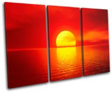 Stunning Sunset Seascape - 13-1036(00B)-TR32-LO